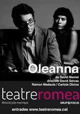 Oleanna by David Mamet at Romea theatre, Barcelona