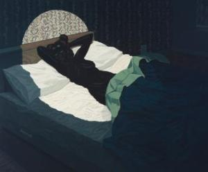Kerry James Marshall. Nude (Spotlight), 2009. Courtesy of Defares Collection, Nederland.