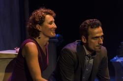 Miriam Montilla and Raul Prieto. Photo: Eduardo Moreno
