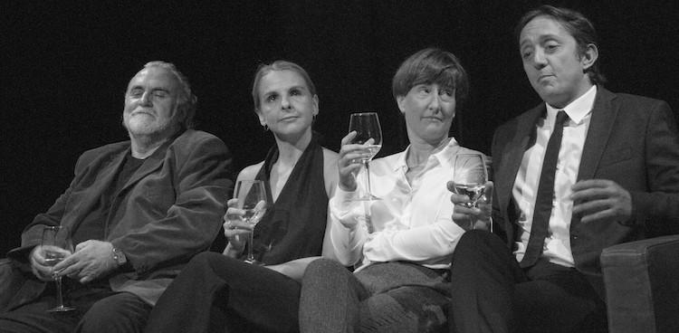 Andreu Benito, Sandra Monclús, Mònica Glaenzel y Joan Carreras // Photo Copyright: Projecte Fonamentum