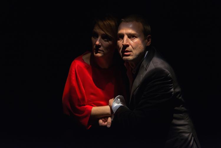 Marta Calvó and Alberto San Juan in Masacre Photo © David Ruiz