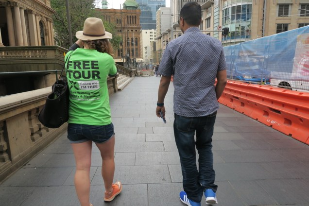 Free Walking Tour Sydney