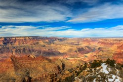 Colorado passing through canyon at desert View Point