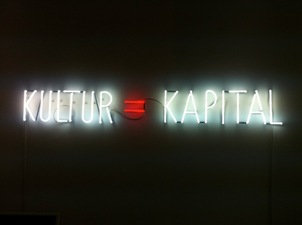 'Kultur=Kapital', Alfredo Jaar @ Galerie Thomas Schulte, April 29th, 2012 => Gallery Weekend-1 (1/2)
