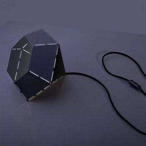 Lampka Diamond Black biurkowa