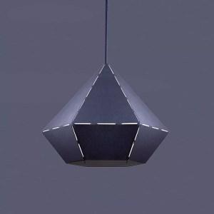 Lampka diamond Black wisząca