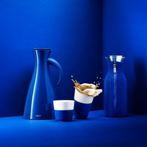 Vacuum Jug, Tumblers, Fridge carafe, Electric blue 502918, 501036, 501037, 567966