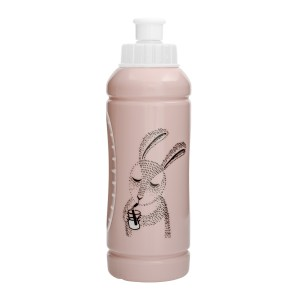 Bidon różowy z króliczkiem