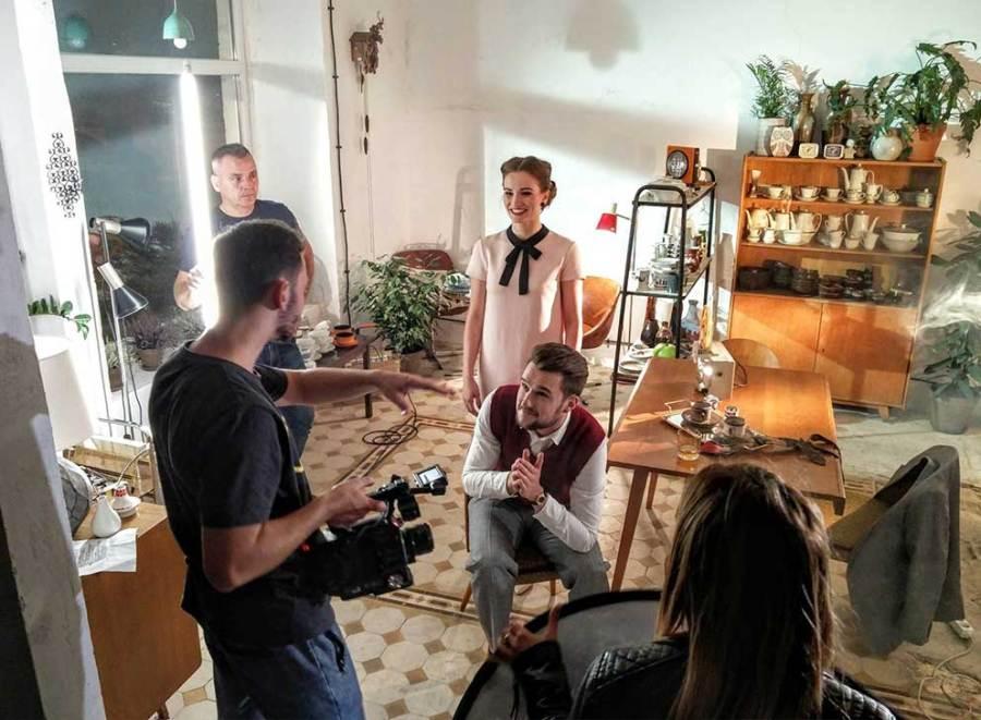 Zespół Muzyczny Defis nagrywa teledysk w Look Inside
