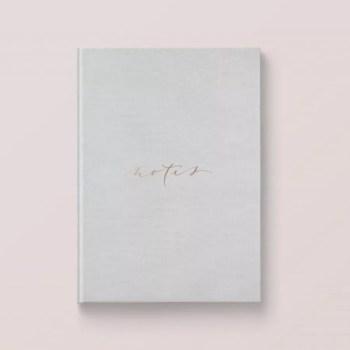 notatnik Papiery wartościowe szary