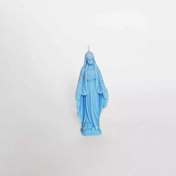 świeczka maryjka błękitna
