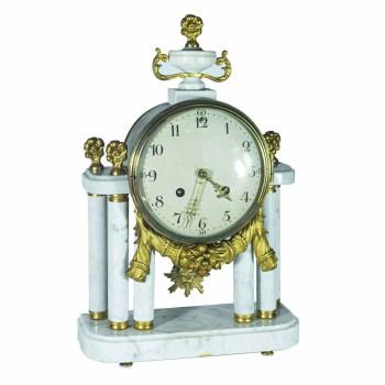 Zegar marmurowy Szzwecja