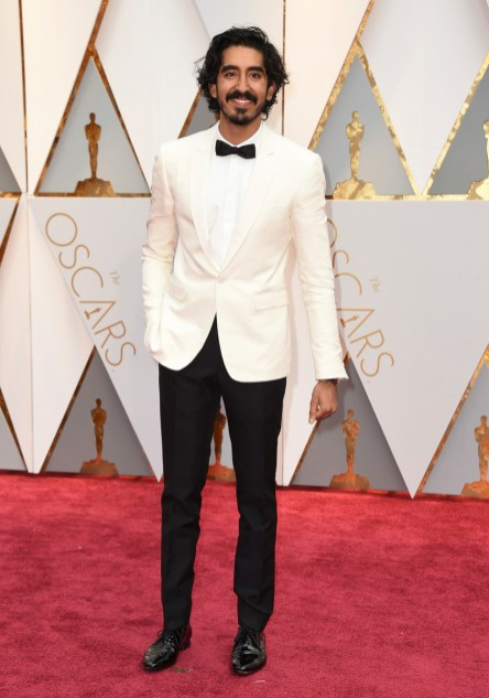 Dev Patel arrives at the Oscars on Sunday, Feb. 26, 2017, at the Dolby Theatre in Los Angeles. (Photo by Jordan Strauss/Invision/AP)