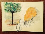 The Almond tree.