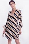 Vestido Eula Stripe Mix - Loft747