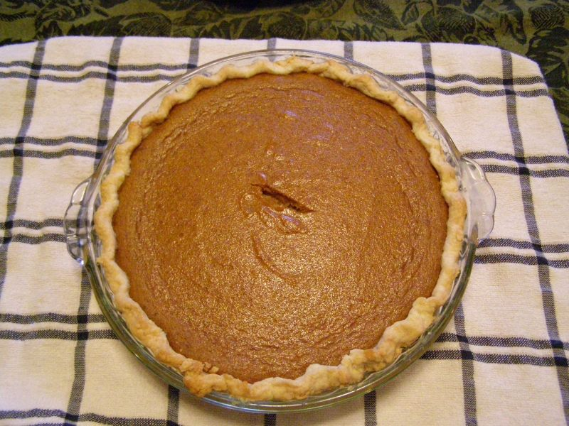 The Best Pumpkin Pie Ever! Seriously!