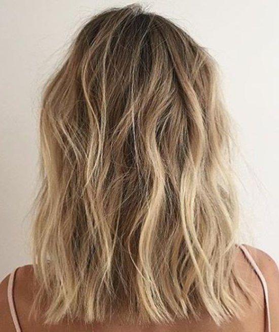 Стрижка на средние тонкие волосы