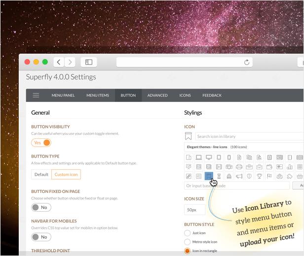 WordPress Menu Plugin — Superfly Responsive Menu - 1