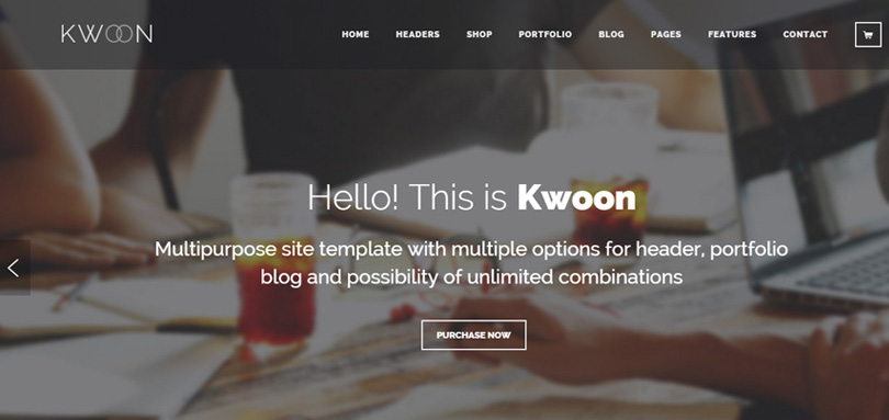 Kwoon WordPress Theme