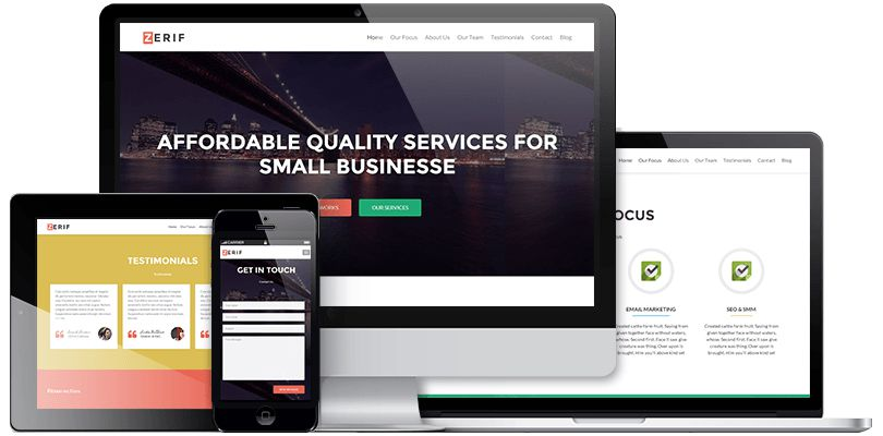 Zerif Responsive WordPress Theme