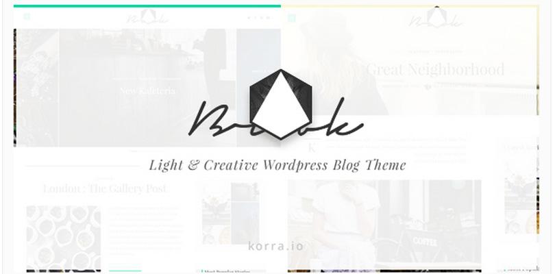 Brook - Premium WordPress Blog Theme