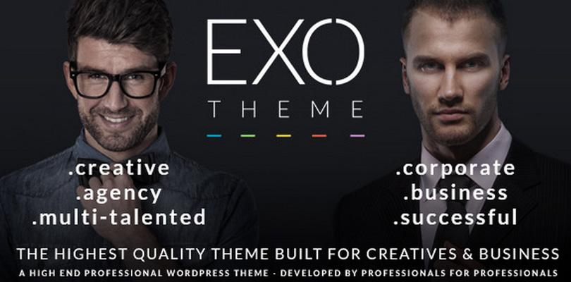 EXO - Premium WordPress Theme
