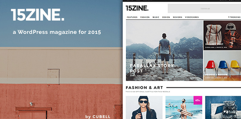 15Zine — HD Magazine / Newspaper WordPress Theme
