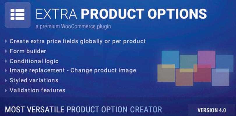 WooCommerce Extra Product Options