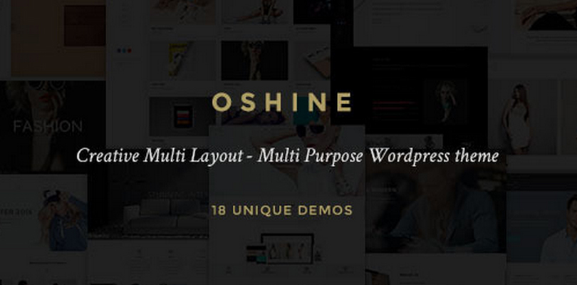 OSHINE — Creative Multi-Purpose WordPress Theme