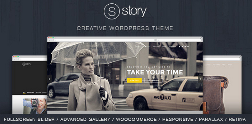 Story — Creative Responsive Multi-Purpose Theme