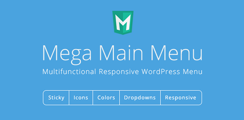 Mega Main Menu — WordPress Menu Plugin