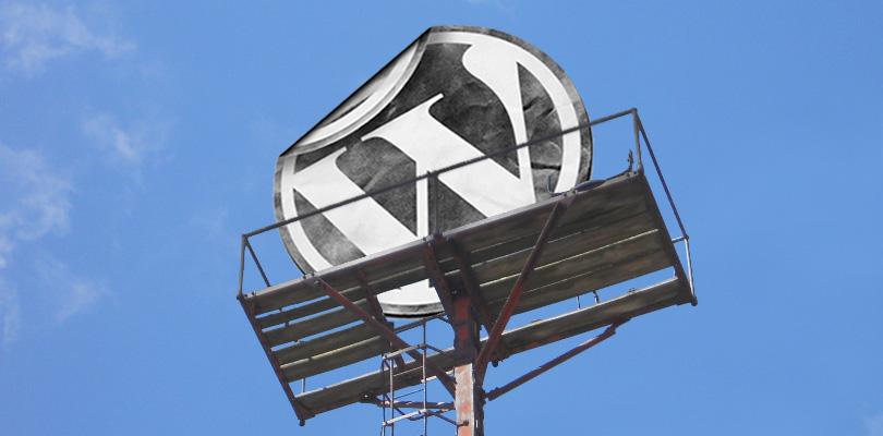 WP Logo on Platform