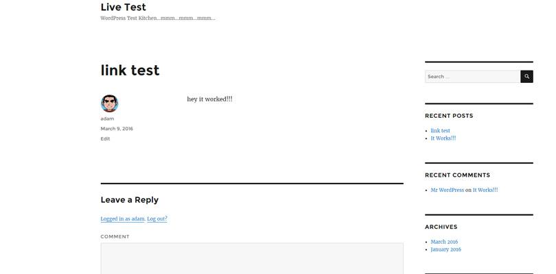 link-test