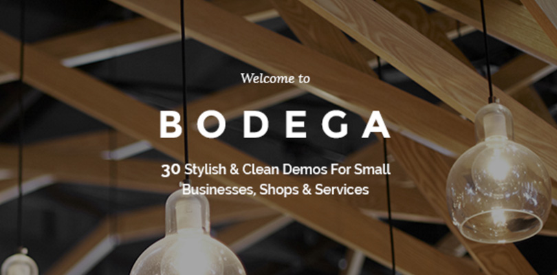 Bodega Stylish Theme for Small Business