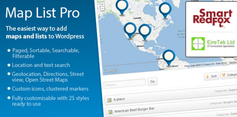 Maps List Pro