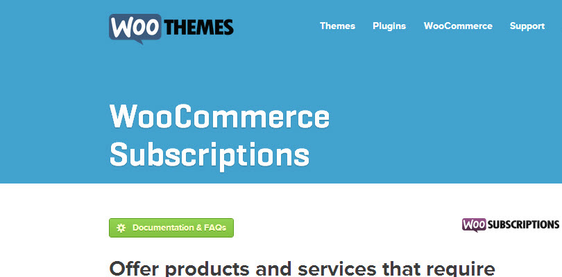 WooCommerce Subscriptions Extension