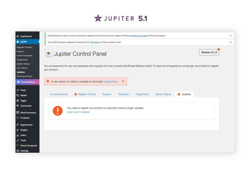 jupiter 5.1 update
