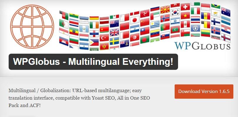 WPGlobus - Multilingual Everything