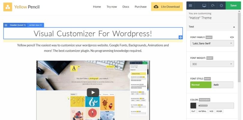 Yellow Pencil Visual CSS Style Editor