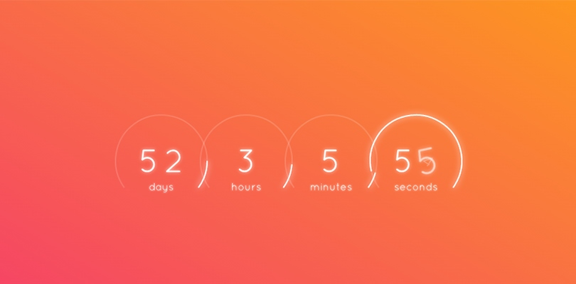3 minute countdown timer