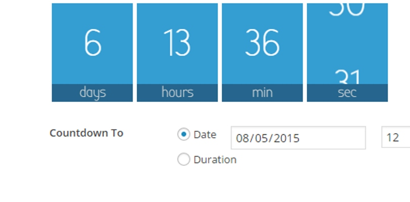Waiting One-click Countdowns