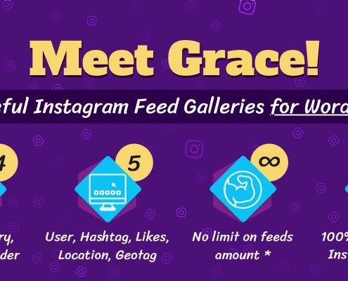 Grace Instagram Feed Galleries for WordPress
