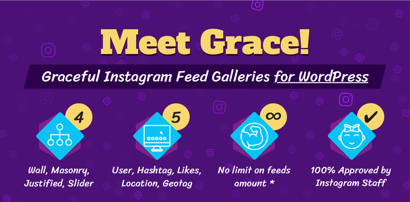 Grace Instagram Feed Galleries for WordPress