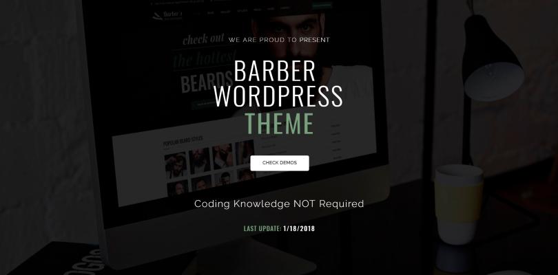 Best Premium WordPress Themes for Barbershops