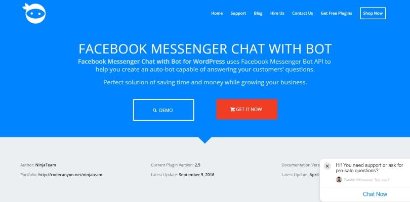 Facebook Messanger Bot