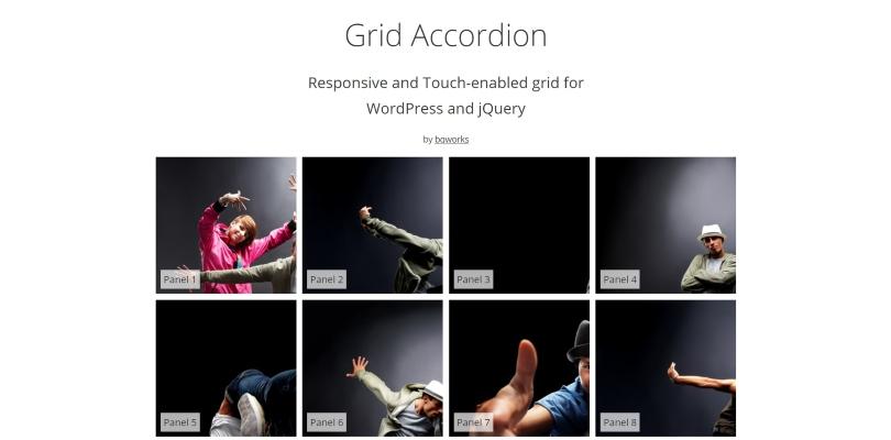 Grid Accordation