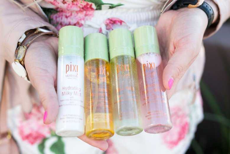 The Perfect Facial Mist xx Pixi, pixi, pixi makeup, pixi cosmetics, facial mist, beauty, beauty blogger, cosmetics, makeup, facial spray, san diego blogger