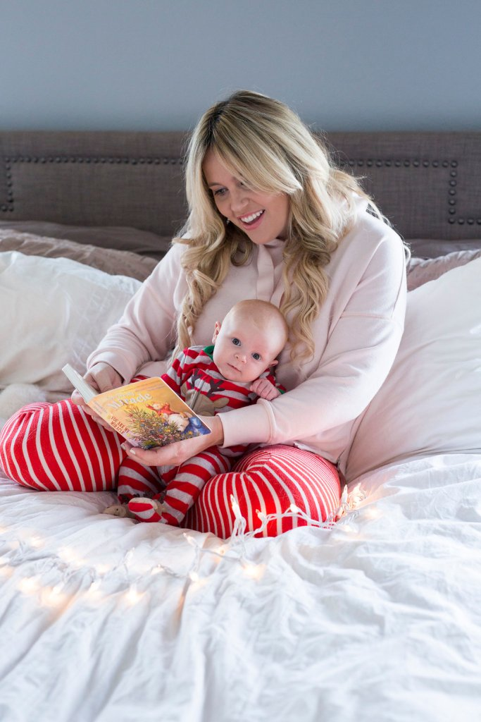 Mommy and Me Pajamas xx Aerie, aerie, aerie pajamas, aerie ootd, mom ootd, mom blogger, mommy blogger, mommy and me, body positive, san diego blogger, mom