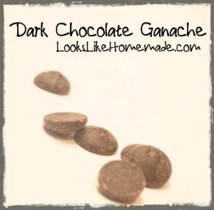 Dark Chocolate Ganache Chips