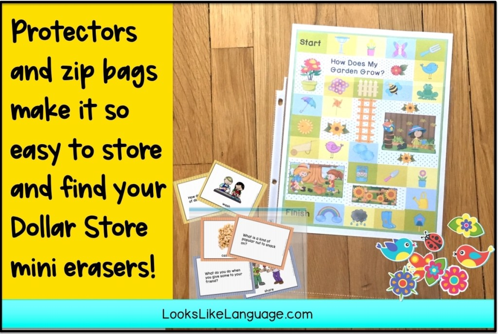 page protector ideas, Dollar store finds, slps